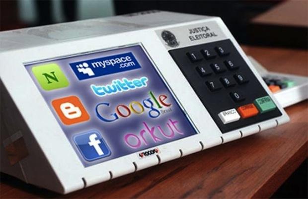 As redes sociais nas campanhas políticas (Foto: Reprodução / Tuddoweb.com.br)