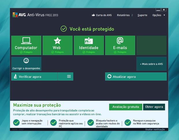 AVG Free Anti-Virus (Foto: Reprodução)