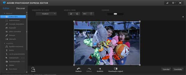 Photoshop Express Editor (Foto: Reprodução)