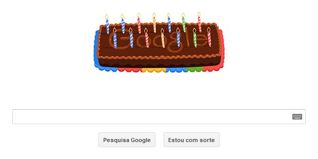 Google comemora o seu 14º aniversário com Doodle animado (Foto: Reprodução/Google)