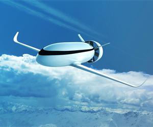 Parece mais um submarino albino e com asas, mas é o VoltAir: o avião elétrico (Foto: Divulgação)
