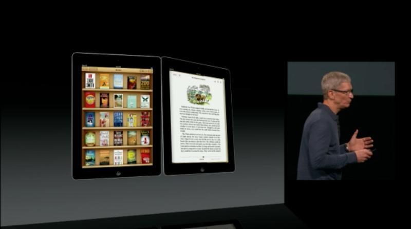 Novo iBooks permite também leitura na vertical (Foto: Reprodução)