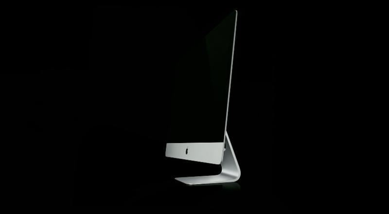 Novo iMac tem apenas 5 mm de espessura (Foto: Reprodução)
