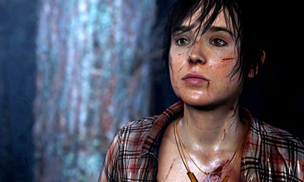 Ellen Page dá vida para a heroína de Beyond Two Souls (Foto: Divulgação) (Foto: Ellen Page dá vida para a heroína de Beyond Two Souls (Foto: Divulgação))