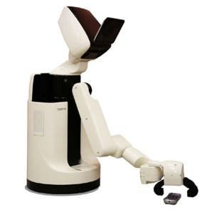 Robô realiza simples tarefas do cotidiano e é controlado por um tablet (Foto: Reprodução/Dvice)