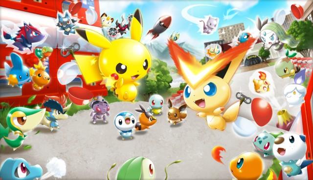 Pokémon Rumble U promete uma nova febre, com coleção de miniaturas (Foto: Divulgação)