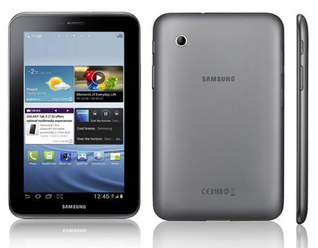 O Galaxy Tab 2 de sete polegadas com 3G é um tablet barato com ótima câmera (Foto: Divulgação) (Foto: O Galaxy Tab 2 de sete polegadas com 3G é um tablet barato com ótima câmera (Foto: Divulgação))