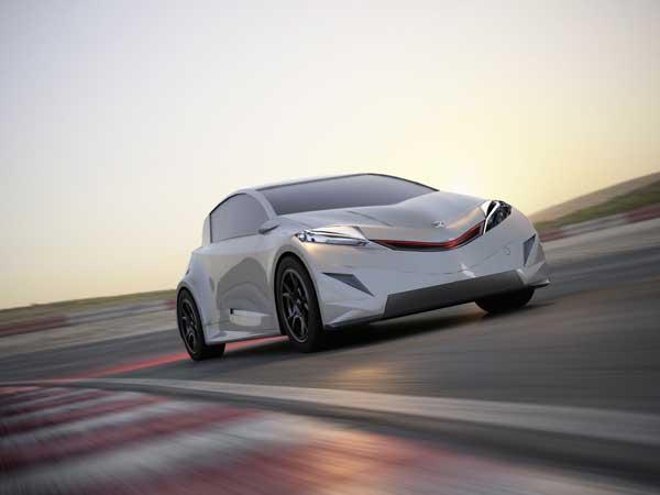 Carro é veloz, porém funciona com energia elétrica (Foto: Reprodução/Yanko Design)