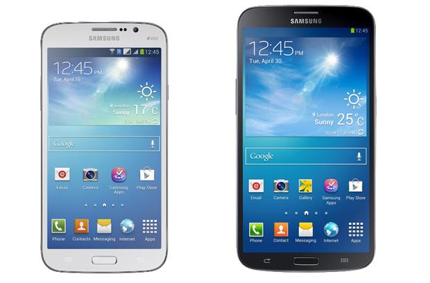 Galaxy Mega 6.3 e 5.8 são os novos foblets da Samsung (Foto: Divulgação)