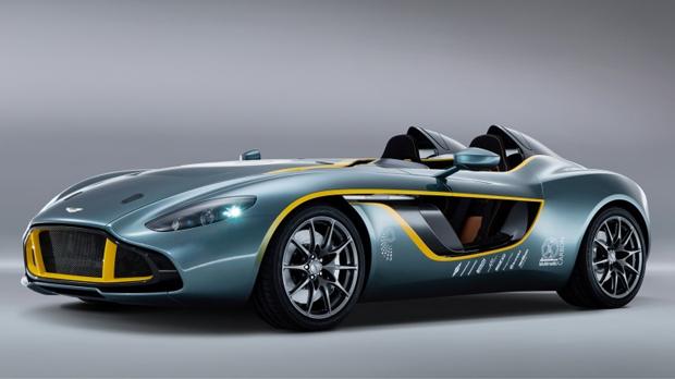 Modelo CC100 é um conceito para comemorar aniversários importantes da Aston (Foto: Divulgação)