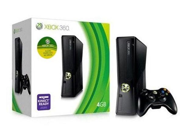 Xbox 360 de 4GB domina o mercado nacional (Foto: Divulgação)