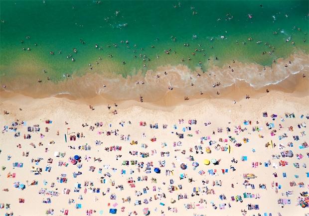 Praia Coogee, Sydney, Austrália (Foto: Reprodução/Gray Malin)