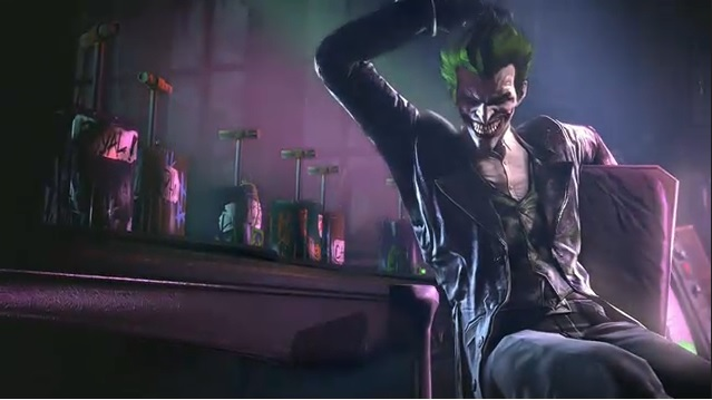 Coringa aparece em Batman: Arkham Origins (Foto: Reprodução)