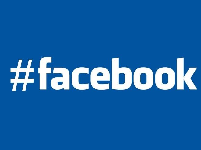 Facebook com hashtag (Foto: Reprodução)