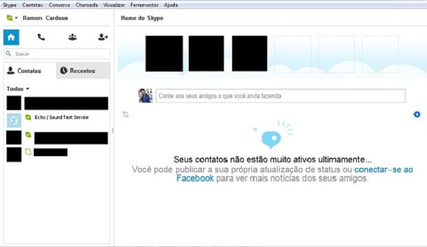 Resultado do Skype sem propagandas