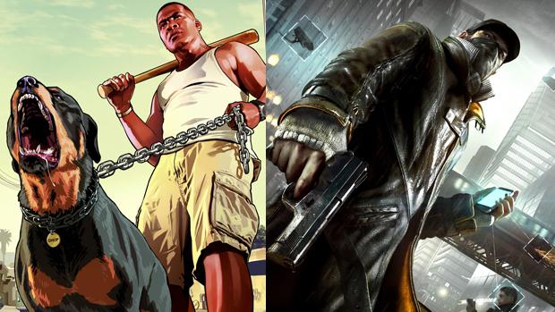 GTA 5 ou Watch Dogs: Qual você prerefe? (Foto: Reprodução)