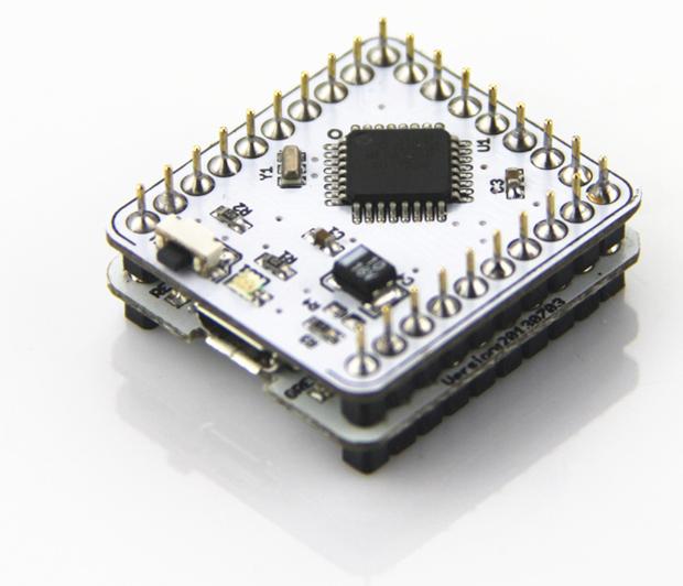 Circuitos de Microduino podem ser empilhados de acordo com a necessidade (foto: Divulgação) (Foto: Circuitos de Microduino podem ser empilhados de acordo com a necessidade (foto: Divulgação))