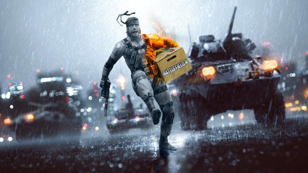 Nem Solid Snake se daria bem atacando sozinho em Battlefield 4 (Foto: cleamie.wordpress.com)
