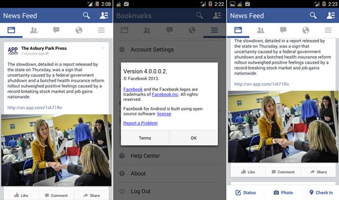 Aplicativo ganha interface mais limpa e com acesso facilitado a recursos importantes (Foto: Reprodução/Android Police)