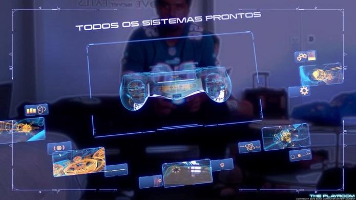 Animação é bem futurista (Foto: Thiago Barros/TechTudo)