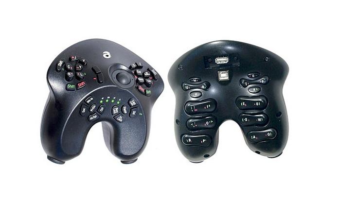 Acessório mistura teclado, mouse e joystick (Foto: Divulgação)