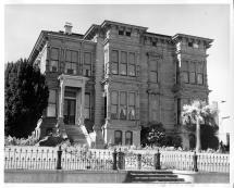 Weird San Francisco Mansion In Hitchcock Vertigo