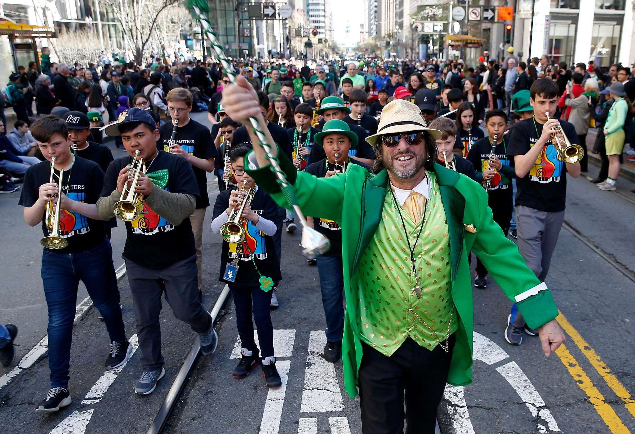 Everyone Is Irish For San Francisco S St Patrick S Day