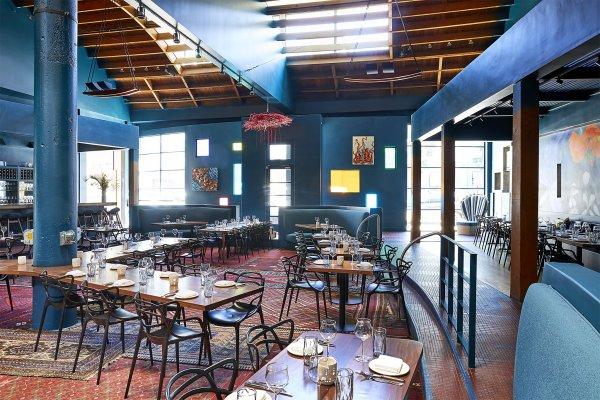 Part Restaurant Art Palette Opens Week