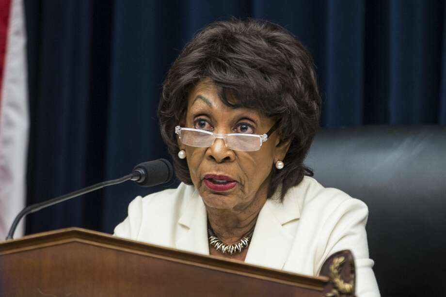 House Financial Services Committee Chairman Maxine Waters (D-CA) speaks during a House Financial Services Committee Hearing on Capitol Hill on April 9, 2019 in Washington, DC. Photo: Zach Gibson/Getty Images