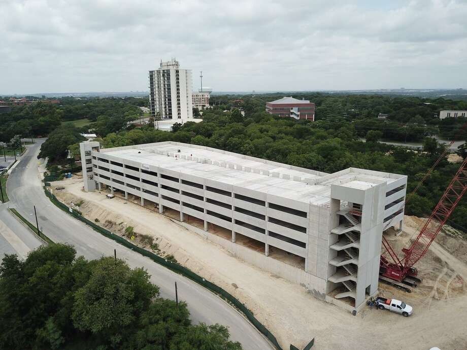 Photos show progress of new San Antonio Zoo parking garage  San Antonio ExpressNews