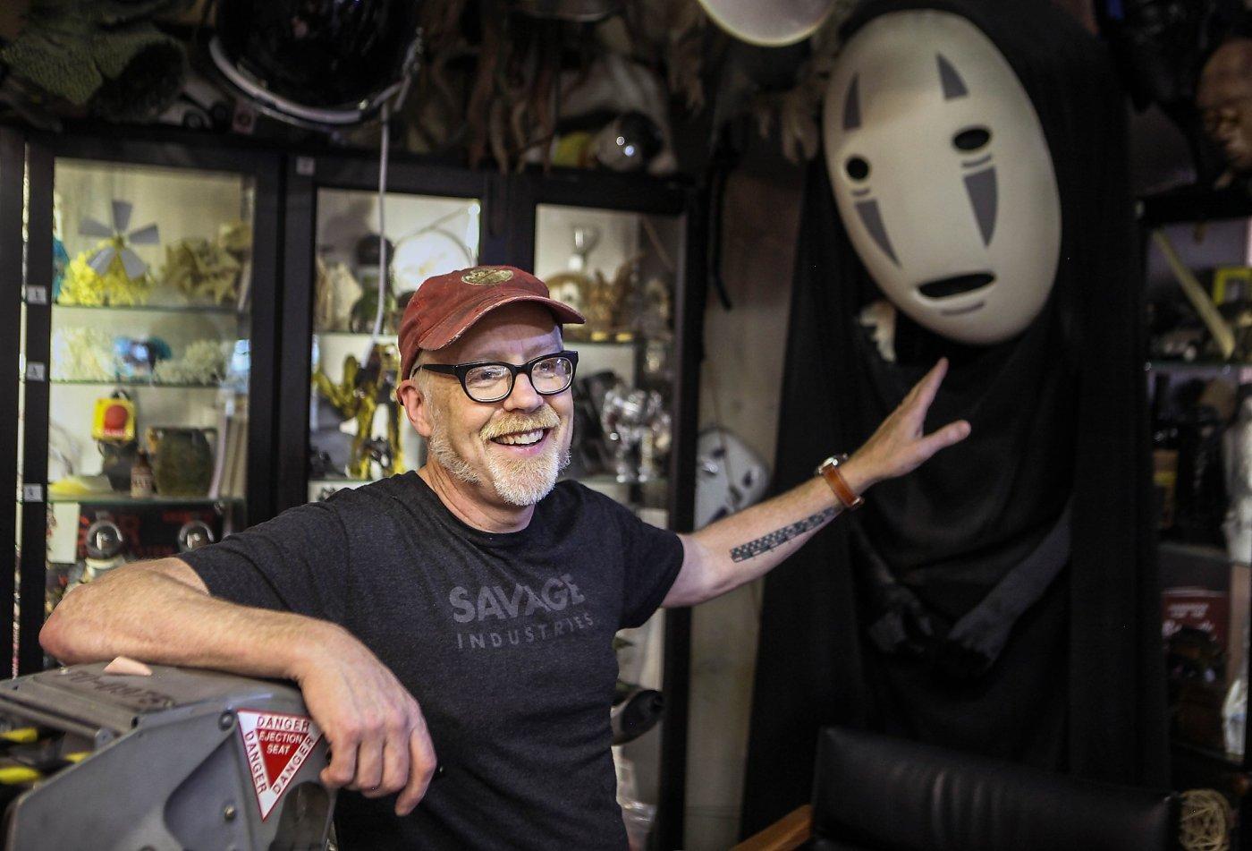 Peek inside Adam Savage's famed SF Comic-Con costume closet - SFGate