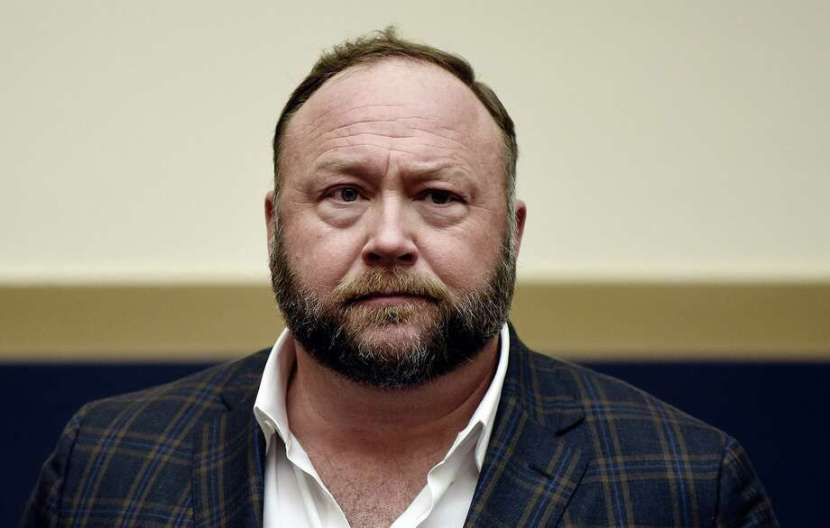 Infowars founder Alex Jones attends Google CEO Sundar Pichai's hearing before the House Judiciary committee on Capitol Hill on December 11, 2018, in Washington, D.C. (Olivier Douliery/Abaca Press/TNS) Photo: Olivier Douliery / TNS / Abaca Press