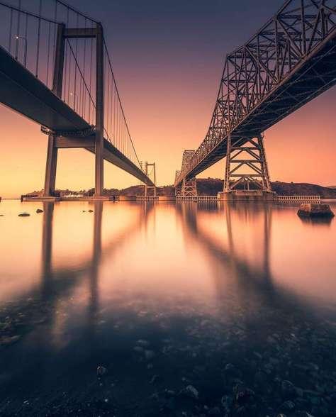 @kurteek found twin bridges by Carquinez Bridge.