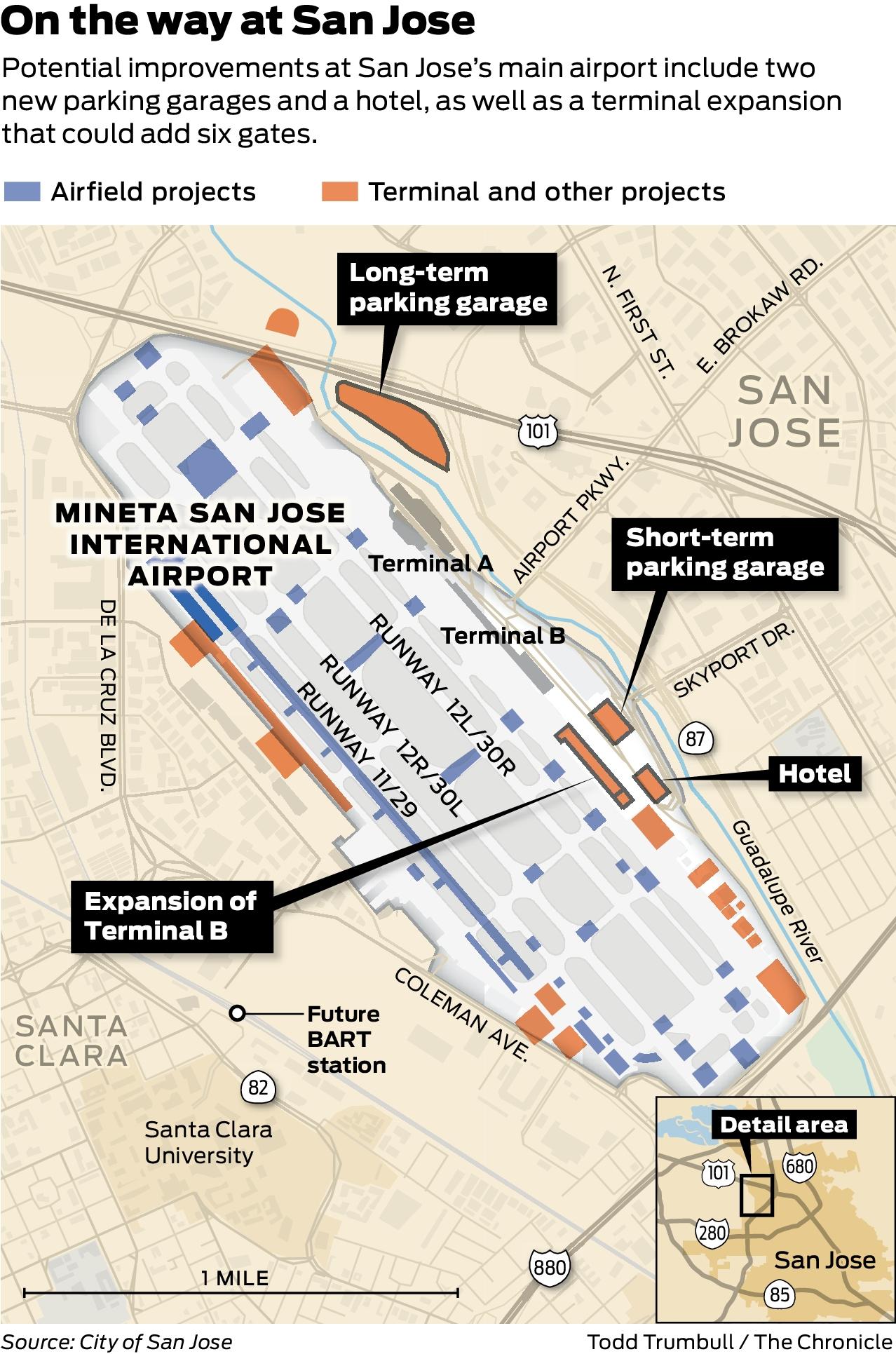 Sjc Terminal Map : terminal, Airport, Expansion,, Climate, Concerns