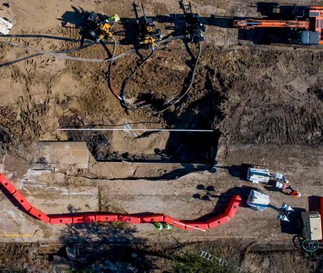 Houston Water Main That Burst Had Been Inspected  C Bd Years Ago