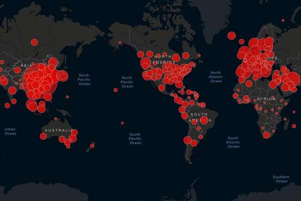 Coronavirus: Latest maps and numbers from around the world ...