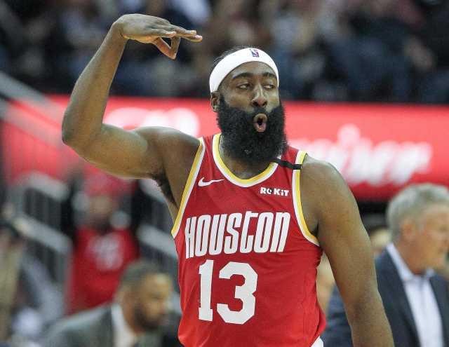 Same old James Harden' returns to practice floor for Rockets -  HoustonChronicle.com