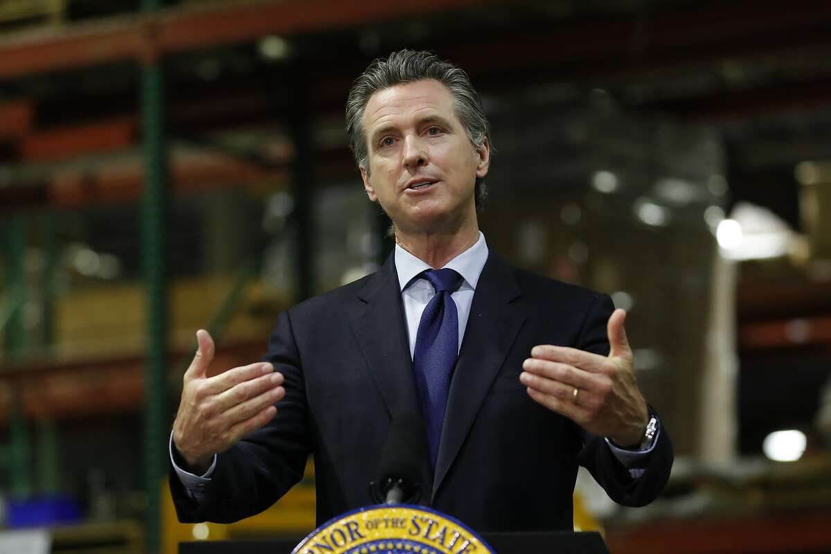 Gavin Newsom Replacing Watch List With 4 Tiered Color