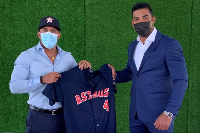Jugadores de los Astros
