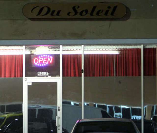 This Storefront On Richmond Avenue One Of The Massage Parlors Cited Most Often By The