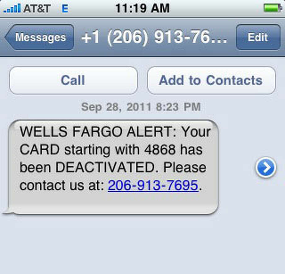 text message scam targets