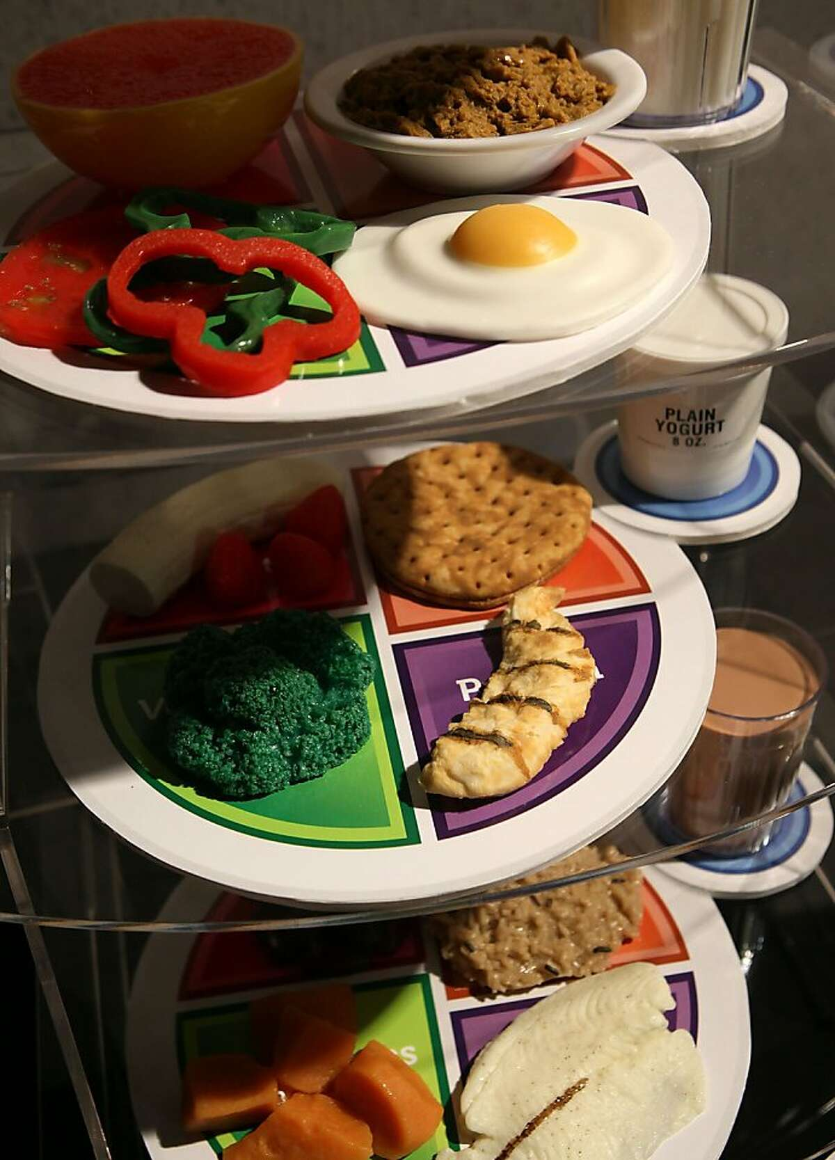 Food Pyramid Is Out Myplate In As Nutrition Guide