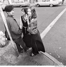 San Francisco Hippies 1960s Girls