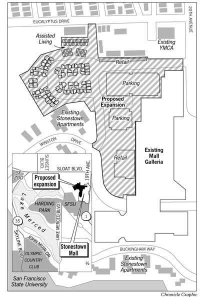 Stonestown owner revives expansion plan / Neighbors
