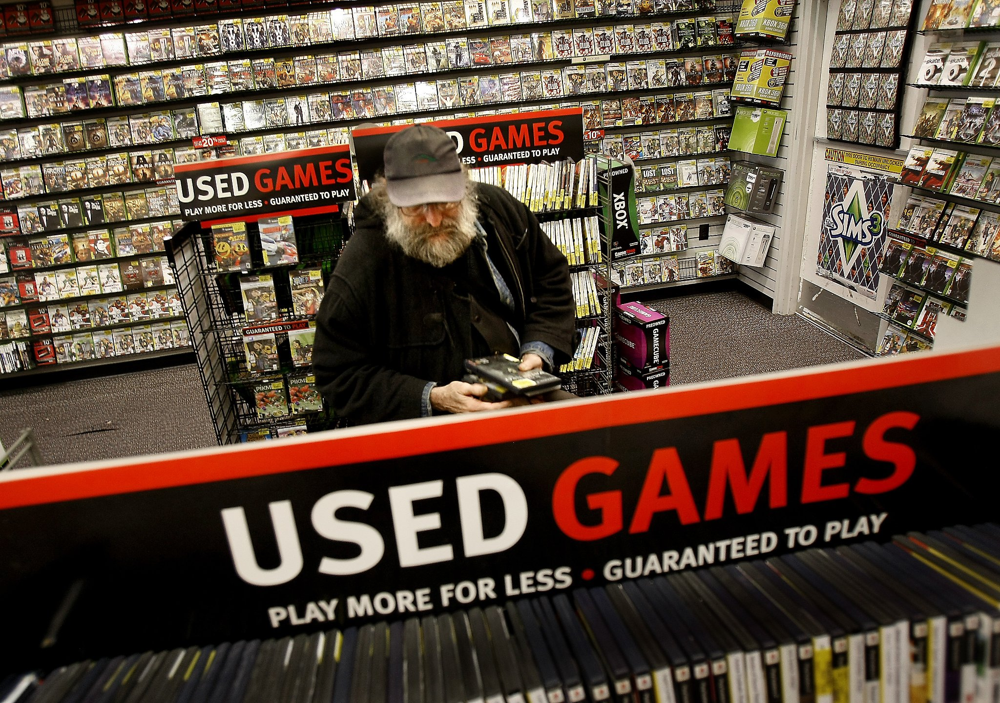 struggling gamestop reinventing itself