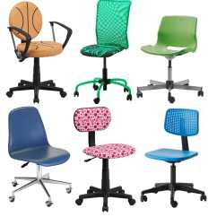 Red Childrens Desk Chair What Type Of Fabric To Cover Kitchen Chairs Smaller Scale Best For Children