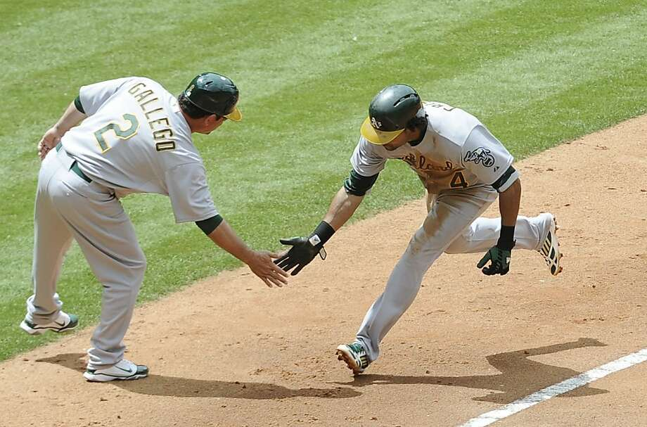 A's Complete Sweep In Bang-up Way