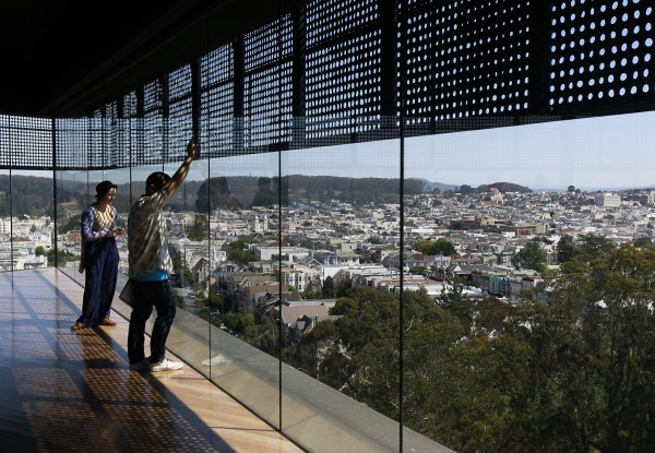 De Young Museum Tower Beloved 360-degree Draw