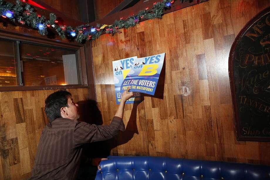 SF voters OK Prop B on waterfront development  SFGate