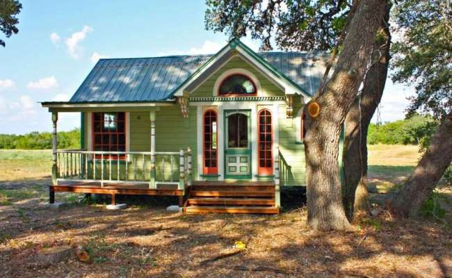 Texas Builders Go Big With Tiny House Construction